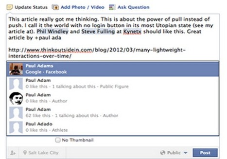 "Still Think Facebook's Not Threatened by Google+? Facebook Now Supports ""+"" Tagging 