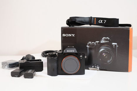 Sony A7 24MP Full Frame Camera Body Only ILCE-7 | Sony A7 & A7r News & Reviews | Scoop.it