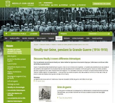 Neuilly-sur-Seine, pendant la Grande Guerre (1914-1918)   Nos Racines   Scoop.it