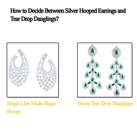 How to Decide Between Silver Hooped Earrings and Tear Drop Dangling? - Silver Bangles & Bracelets Online for Women in India | Sonals Jewellery | Scoop.it