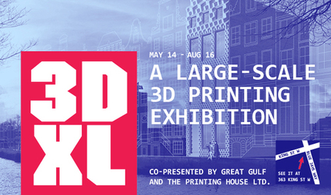 Design Exchange | 3DXL - A large-scale 3D printing exhibition | design exhibitions | Scoop.it