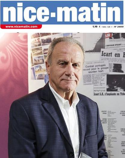 L'homme politique niçois Jean Icart rachète «Nice Matin» | DocPresseESJ | Scoop.it