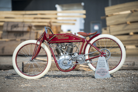 1916 Harley-Davidson Board Track Racer Replica | TractionLife.com | Vintage, Classic & Custom Motorbikes | Scoop.it