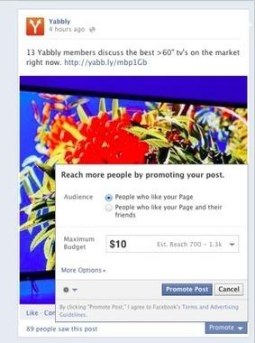 Facebook teste la promotion payante de publications d'amis | LE COMMUNITY MANAGEMENT AU CAMEROUN | Scoop.it