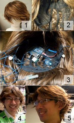 Sony invente une perruque reliée à Internet | Innovation | Scoop.it