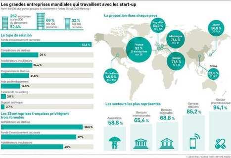 La France donne le ton des relations entre grands groupes et start-up | Le Zinc de Co | Scoop.it