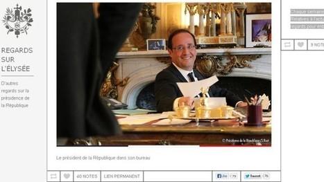 Le Tumblr de l'Élysée, nouvelle étape d'une stratégie numérique classique | Le Figaro.fr | Web en politique | Scoop.it