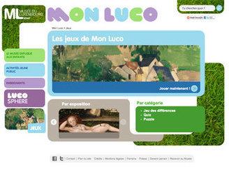 Jeux - Mon Luco  - Musée du Luxembourg | Autres jeux... | Scoop.it