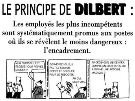 11heure — (s) » Blog Archive » Le Principe de Dilbert | L'Art de la Guerre et l'entreprise | Scoop.it