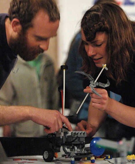 Chaos reigns at LEGO robot challenge   The Robot Times   Scoop.it