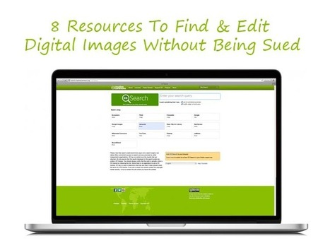 8 Resources To Find & Edit Digital Images Without Being Sued | Ed Tech | Scoop.it