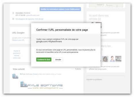 Comment avoir une URL personnalisée sur Google+ ?   Référencements   Scoop.it