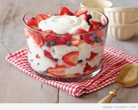 Angel food cake and berry trifle | Recipes | Scoop.it