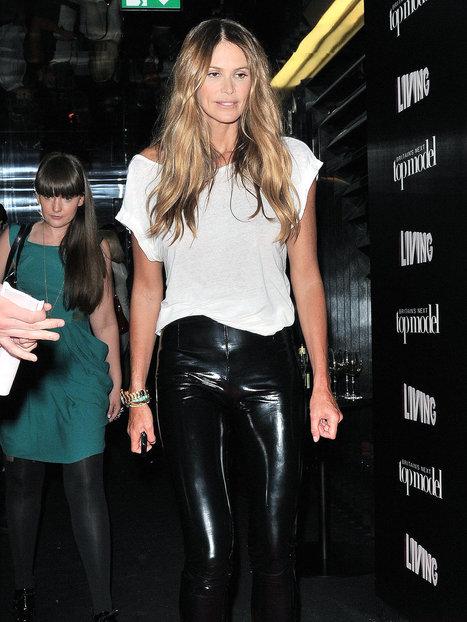 Elle Macpherson Leather Pants | Designers Women Leather Jackets & Pants | Scoop.it