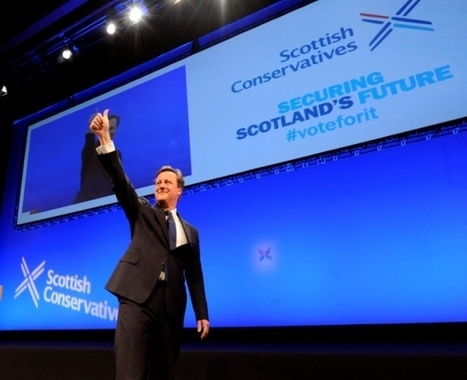 "Independence ""false dream"" will fade - David Cameron 