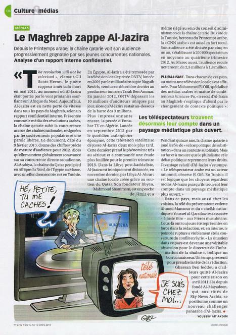 Le Maghreb zappe Al-Jazira | Broadcast design & Média consulting | Scoop.it