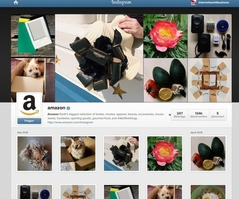 Die schönsten Unternehmens-Accounts auf Instagram | Social Media Superstar | Scoop.it