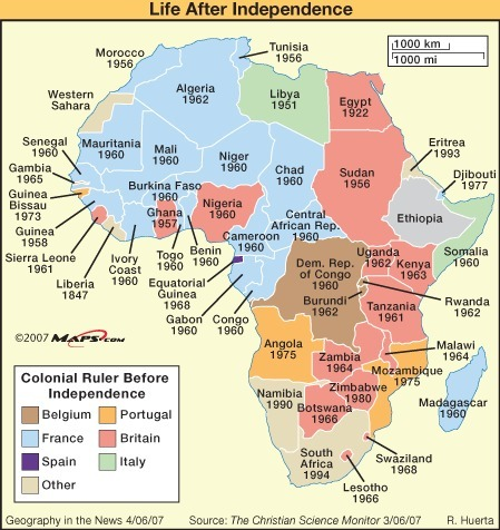 didjuno? african separtists demanding independent territories | Geography in the News | Scoop.it