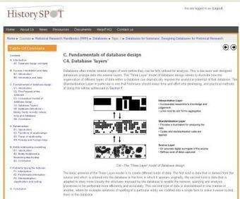 Designing Databases for Historical Research | Digital  Humanities Tool Box | Scoop.it