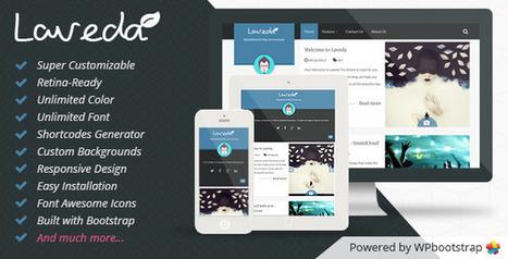 Laveda - Retina Responsive WordPress Blog Theme - WordpressThemeDB | WordpressThemeDatabase | Scoop.it