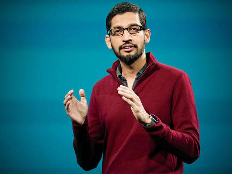 Google CEO Pichai says devices will fade away - but launches new hardware division | ZDNet | web digital strategy | Scoop.it