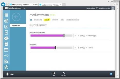 Announcing Release of Windows Azure Media Services - ScottGu's Blog | ICT in Education | Scoop.it