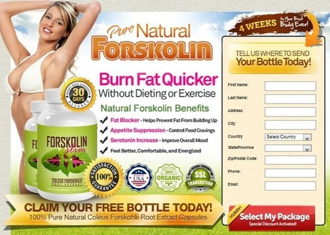 Forskolin Slim Review - Get Your Trial Bottle HERE!!! | GREAT  Forskolin Slim | Scoop.it