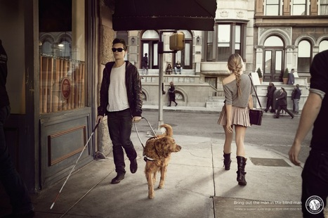 International Guide Dog Federation: Girl | Ads of the World™ | ■Marketing Creativo - ADV - Campaign | Scoop.it