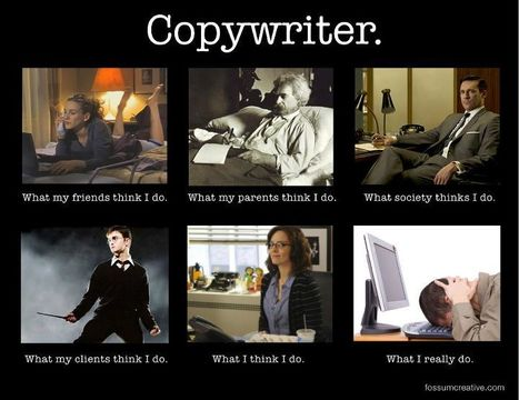 Copywriter | What I really do | Scoop.it