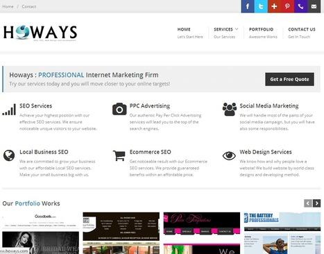 Best Website Designing & Promotion (SEO) Company | Social Media Marketing Consultant | Howays | Scoop.it