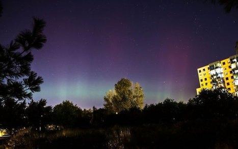 Northern lights captured across the GTA - Globalnews.ca | Planet Earth | Scoop.it