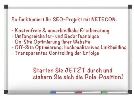 Suchmaschinenoptimierung in Hohenlohe - Werbeagentur NETECON GmbH   seo hohenlohe   Scoop.it
