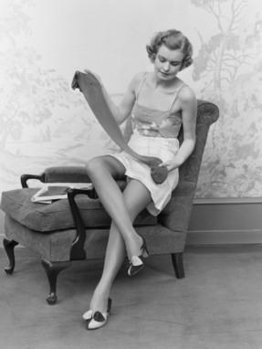 Nylon, a fashion history | V is for Vintage | Historia de la moda a través de la historia del arte. | Scoop.it