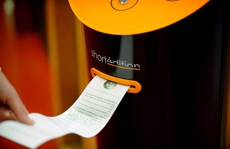 Short story vending machine promises old-school distractions | Story and Narrative | Scoop.it