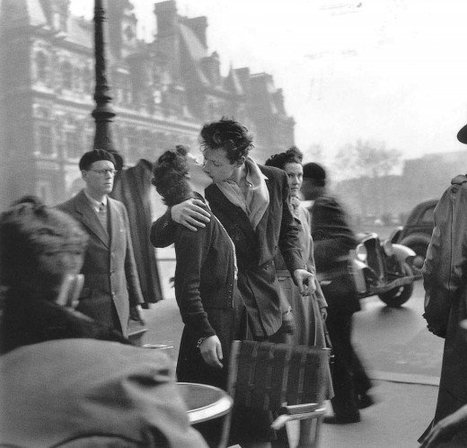 Paris, 1940s / 1950s, by Robert Doisneau | Ca m'interpelle... | Scoop.it