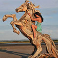 Amazing Sculptures Made Out of Driftwood by Jeffro Uitto | Visual Loop Inspiration | Scoop.it