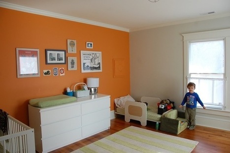 Make Over Your Bedroom With One Wall of Color | Designing Interiors | Scoop.it