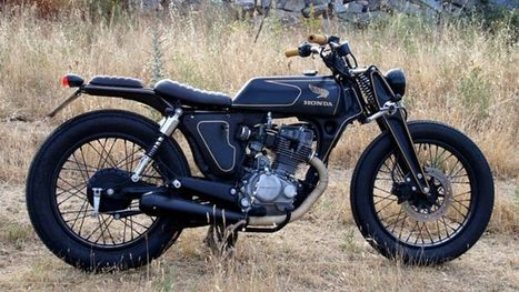 CRD Blends Zundapp and Honda DNA into an Amazing Build - autoevolution | vintage motos | Scoop.it