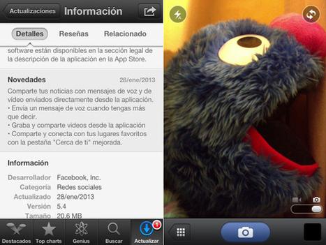 Facebook mueve ficha con su app - 20minutos.es (blog) | Medios sociales y marketing 2.0 | Scoop.it