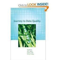 Amazon.com: Journey to Data Quality (9780262513357): Yang W. Lee, Leo L. Pipino, Richard Y. Wang, James D. Funk: Books | Browsing EA stuffs | Scoop.it