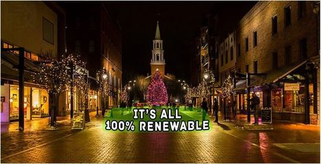 The First US City to Run On 100% Renewable Energy | innovative ways to save the environment | Scoop.it