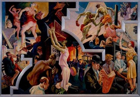 Thomas Hart Benton's 'America Today' Mural Goes to Met   The History of Art   Scoop.it