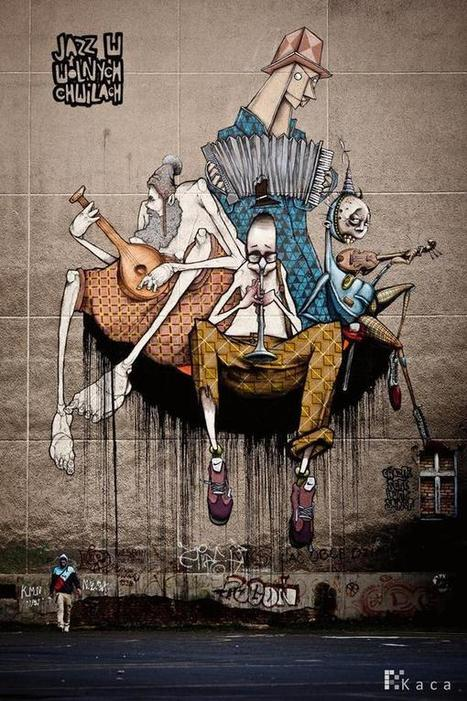 Street Art by Przemek Blejzyk | Cuded | Socialart | Scoop.it