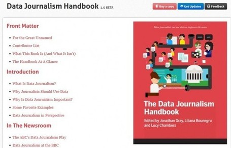 Livros # Data Journalism Handbook : culturascopio.com | Media, Journalism, Communication, Social Media | Scoop.it