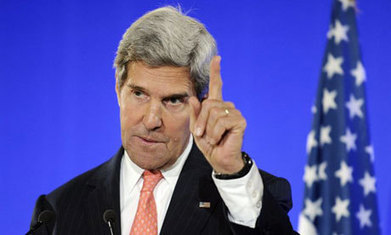 Syria crisis: Kerry says west must not be 'silent spectators to the slaughter'   Syrian Crisis   Scoop.it