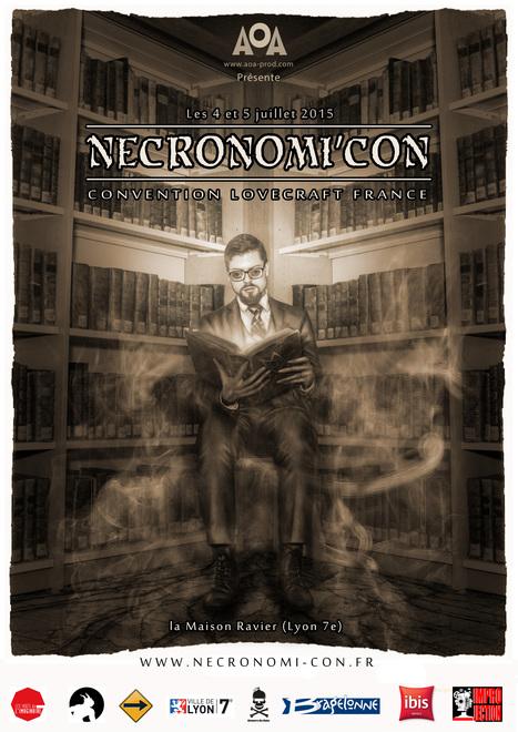 La Necronomi'Con : la première convention Lovecraft France les 4 & 5 juillet | Jeux de Rôle | Scoop.it