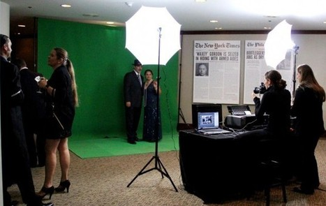 Green Screen Photo Booth for Your Event | Photo Booth Rental | Scoop.it