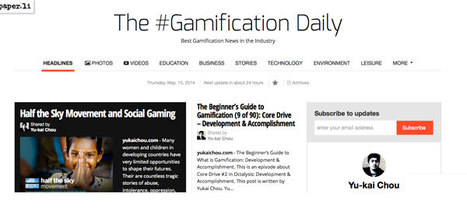 Yu-kai Chou Got Game: The #Gamification Daily Paper.li Rocks via @yukaichou | Contests and Games Revolution | Scoop.it