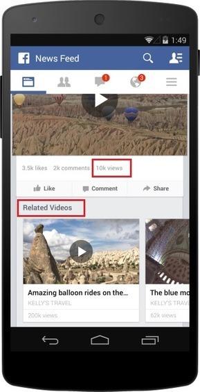 1 Milliard de vidéos vues par jour sur Facebook | Le monde du mobile et ses nouveaux usages : news web mobile, apps en m sante  et telemedecine, m learning , e marketing , etc | Scoop.it