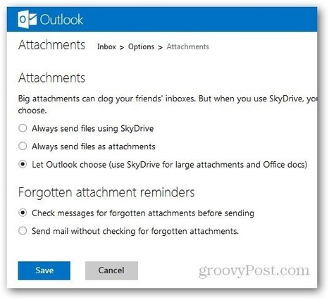 How to Manage Attachments in Outlook.com | Time to Learn | Scoop.it